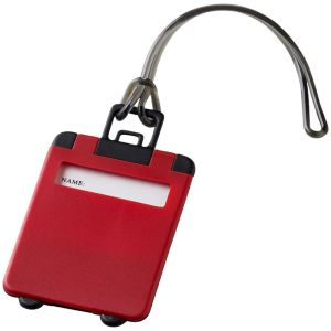 Taggy Luggage Tags in Red