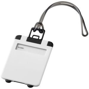 Taggy Luggage Tags in White
