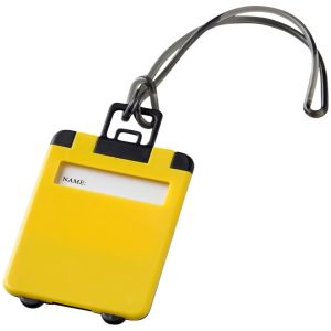 Taggy Luggage Tags in Yellow