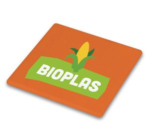 Orange Branded Biodegradable Coasters UK Made Low Prices