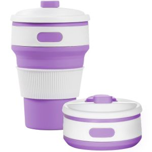 Violet Branded Pocket Cups Eco-friendly Merchandise