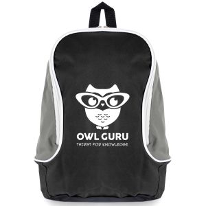Black Branded Rucksacks for Marketing Campaigns