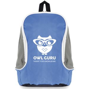 Blue Corporate Printed Backpacks & Business Gifts