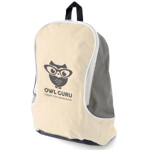 Natural Promotional Backpacks with your Company Logo