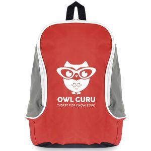Red Branded Backpacks for Marketing & Business