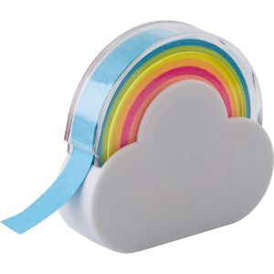 PromotionalCloud and Rainbow Tape Dispensers are ideal for school Merchandise