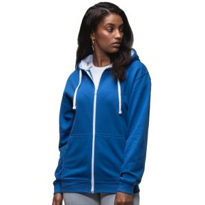 Promotional Hoodies in Royal Blue/Arctic White
