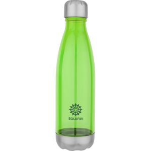 Green Branded Sports Bottles for Marketing Campaigns