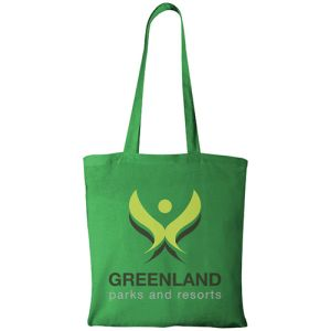 Bright Green Company Branded Tote Bags