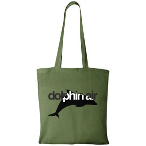 Forest Green Branded Cotton Tote Bags for Businesses