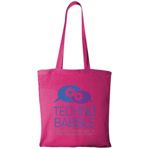 Magenta Custom Printed Cotton Shopping Bags