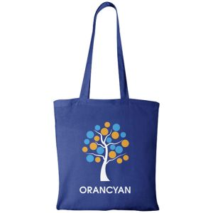 Royal Blue Company Branded Cotton Bags For Promos