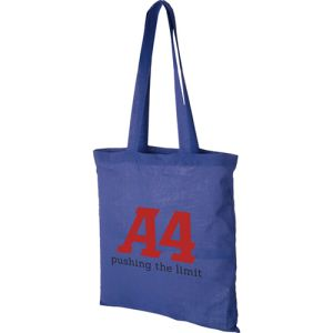 Royal Blue Company Printed Cotton Tote Bags