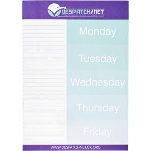 Custom Printed A4 Desk Notepads with your company logo