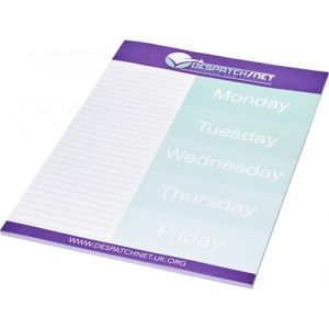 Promotional Printed A4 Desk Notepads with your college name