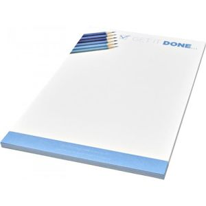 Promotional A5 Desk Notepads branded with company logo