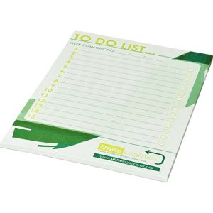 Custom printed Desk Notepads printed with a full colour design