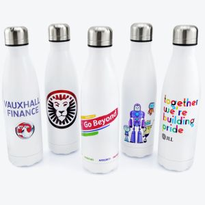 Full Colour Printed Metal Water Bottles Promotional Gifts