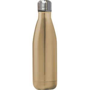 Branded Gold Metal Water Bottles Corporate Gifts