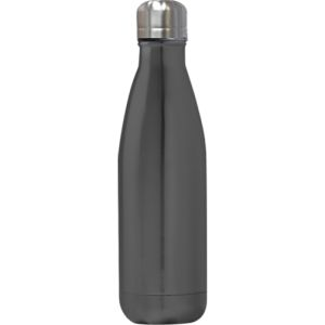 Gun Metal Bottles Printed with your Company Logo