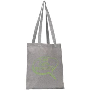 Newchurch Recycled Cotton Tote Bags in Grey