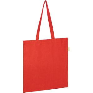 Seabrook Recycled 5oz Cotton Tote Bags in Red