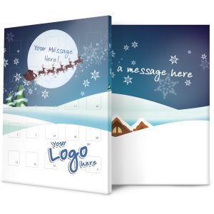 Sleigh Design Promotional Advent Calendars for Business