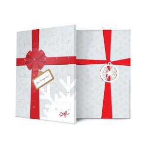 Christmas Bow Design Branded Advent Calendars Festive Business Gifts