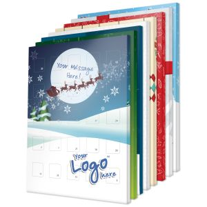 UK Branded Advent Calendars Christmas Promotional Giveaways