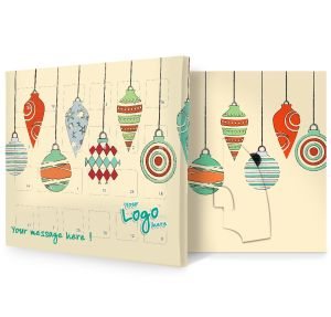 Baubles Design Branded Advent Calendars UK Made