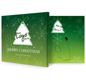 Christmas Tree Design Branded Advent Calendars Christmas Giveaways