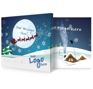 Sleigh Design Promotional Advent Calendars Business Gifts