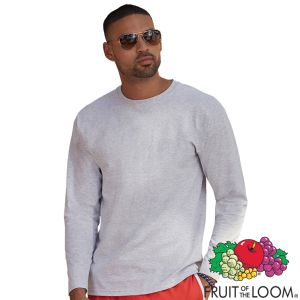 Promotional Fruit of the Loom Valueweight Long Sleeve T-Shirt for Events