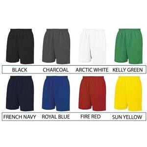 Branded Shorts for Fitness Merchandise