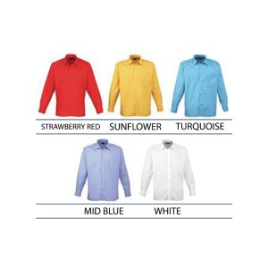 Customised Longsleeve Shirts for Corporate Logos