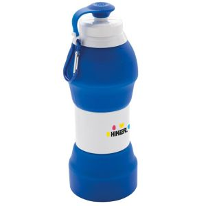 Branded Collapsible Water Bottles Promotional Gifts in Blue