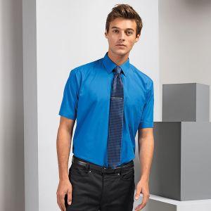 PromotionalMens Short Sleeved Poplin Shirts for Uniforms
