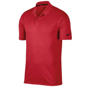 Corporate Nike Victory Polo Shirts in University Red/Black for Business Gifts