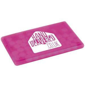 Promotional Mints Low Cost Direct Mail Giveaways in Pink