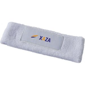 Printed Cotton Headbands with Corporate Logos