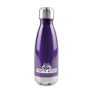 Corporate branded metal bottles promotional giveaways