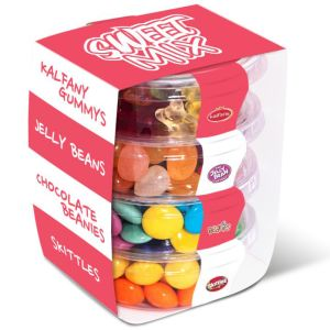 Promotional Eco Pot Sweet Mix Stacks for Merchandise