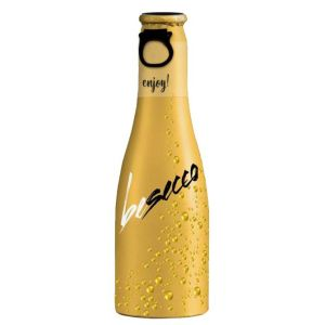 Your logo will be printed in full colour on these Prosecco bottles, for high-impact branding!