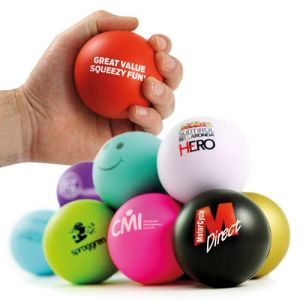 Corporate Branded Stress Balls for Marketing Campaigns
