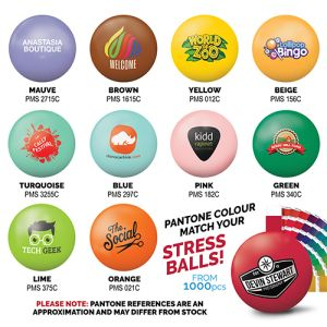 Full Colour Stress Balls for Promotional Giveaways
