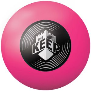 Full Colour Stress Balls in Pink 806c