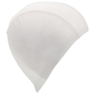 White Corporate Branded Swim Hats to Promote Your Local Swimming Pool