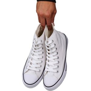 PromotionalHigh-Top Canvas Shoes for Branding