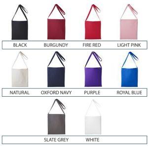 Printed shopper bag with Company Logo