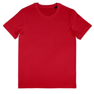 Nakedshirt Men's Organic Fitted Shirts in Red